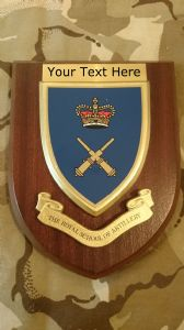 Royal School of Artillery Personalised Military Wall Plaque